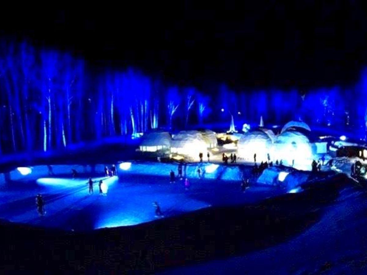 星野リゾートトマムの「アイスヴィレッジ」で極寒の北海道を楽しむ