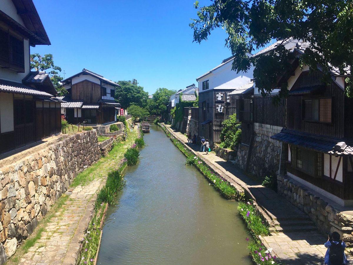 【滋賀】近江商人のふるさと「近江八幡」を上(山頂)から、中(地上)から、下(川面)から眺めてみよう