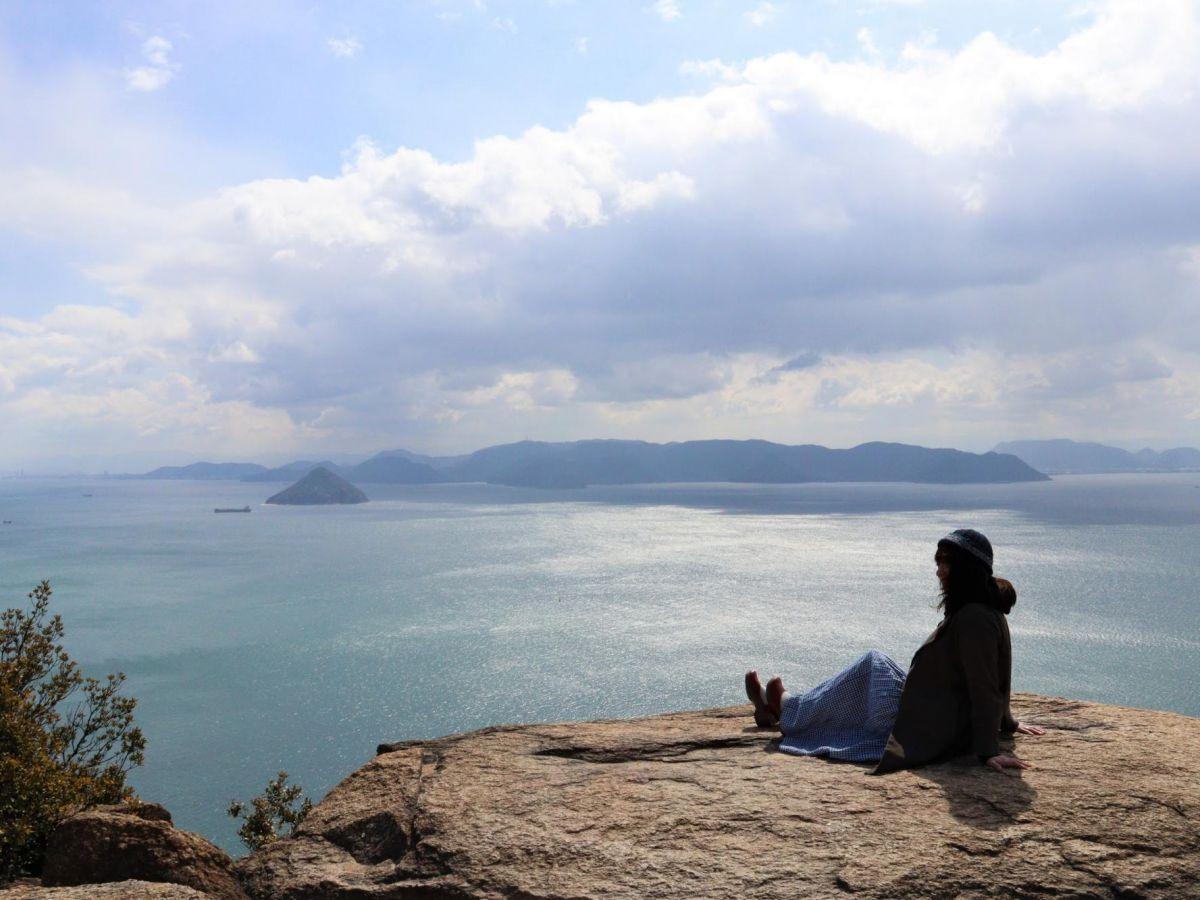 【岡山】王子が岳から見る瀬戸内海の絶景