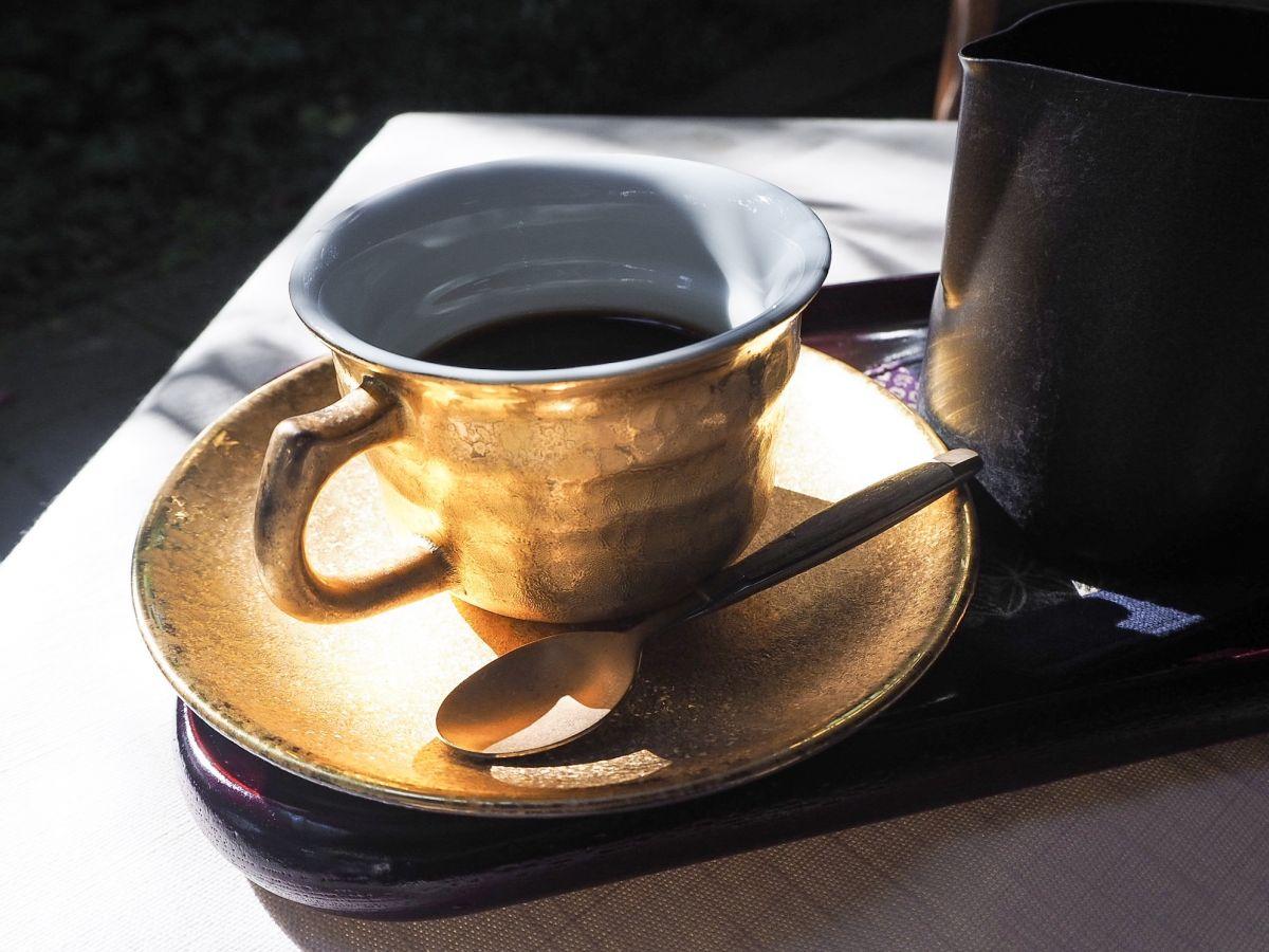 緑いっぱいのテラス席で「徳川将軍珈琲」を。サザコーヒー本店で過ごすちょっと贅沢なひととき