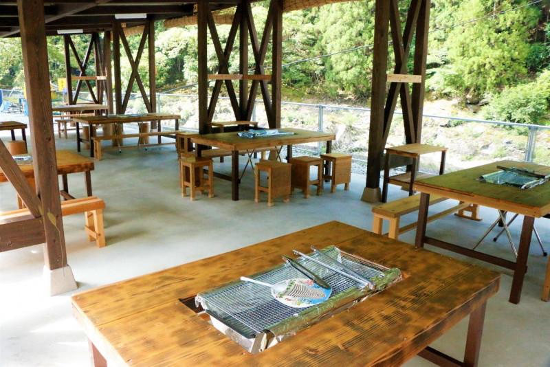奈良県天川村の新観光名所「てんかわ天和の里」でバーベキュー&川遊び