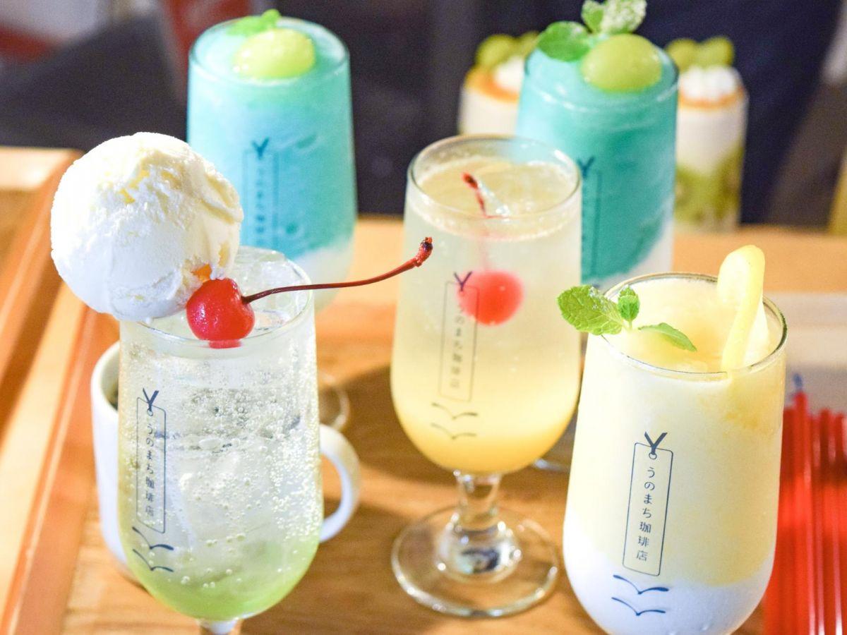 【奈良】可愛いクリームソーダとパフェ。SNSで話題の古民家カフェ「うのまち珈琲店 奈良店」へ
