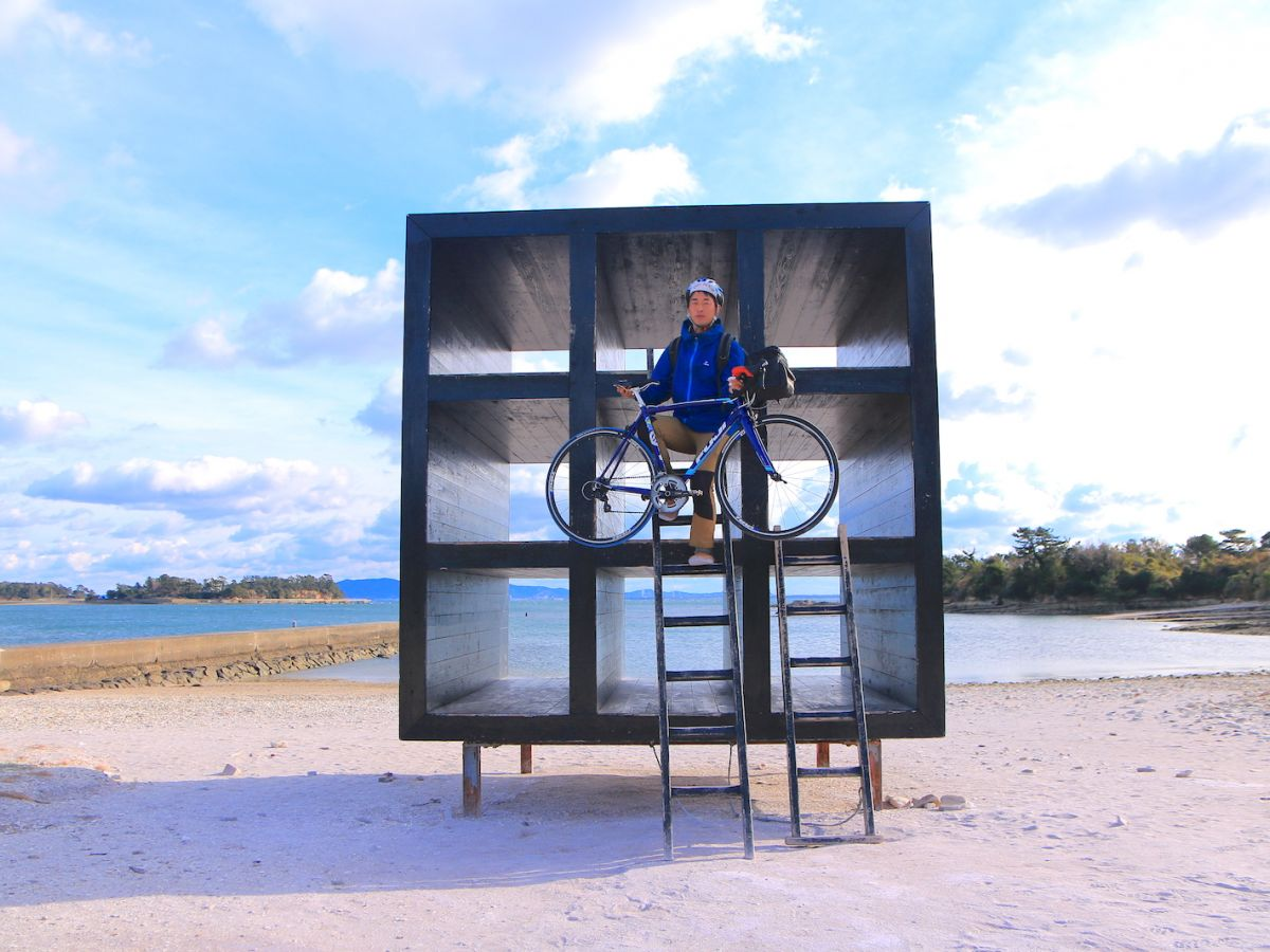 【後半】1日限りの冒険を。三河湾の離島「佐久島」へ一人自転車旅