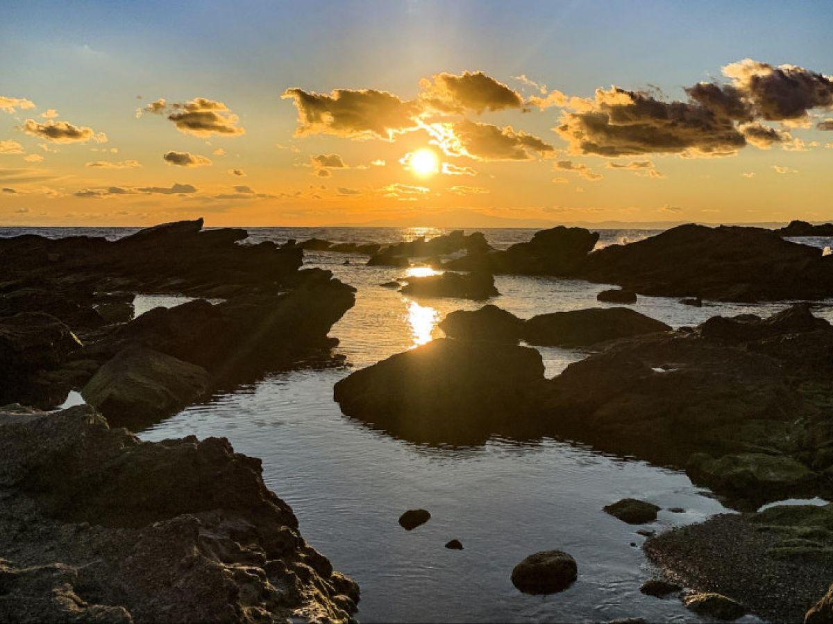夕日の絶景を見るならここ! 東京から日帰りで行ける「城ヶ島」へ